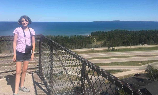 Visit Michigans Upper Peninsula with Kids - Castle Rock View