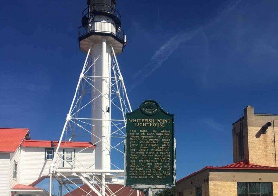 Visit Michigans Upper Peninsula with Kids - Whitefish Point - Lighthouse