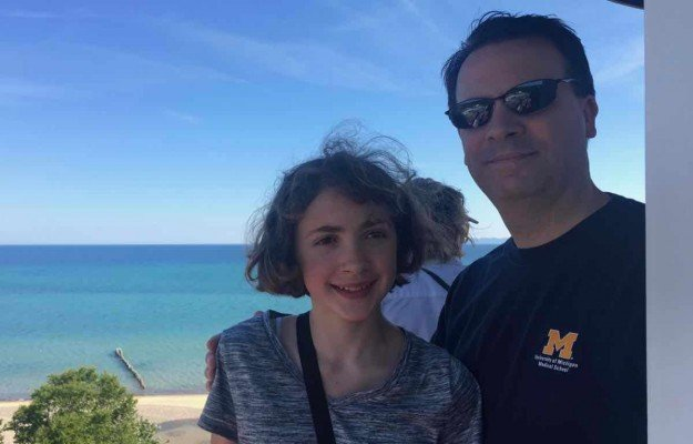 Visit Michigans Upper Peninsula with Kids - Whitefish Point - On Top of the Lighthouse