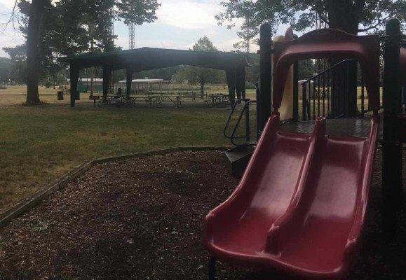 Ypsilanti's Recreation Park - Double Slide