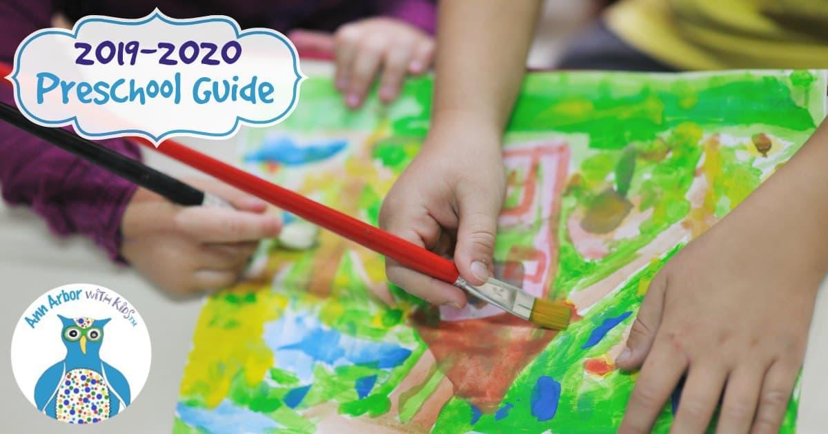 Ann Arbor Preschool Guide