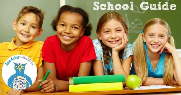 Ann Arbor K-12 School Guide for 2020-2021