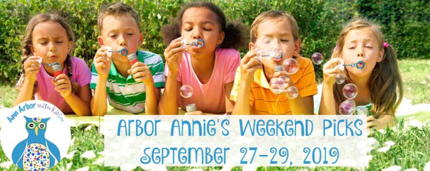 Arbor Annie's Weekend Picks - September 27-29