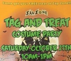 Zap Zone Tag & Treat