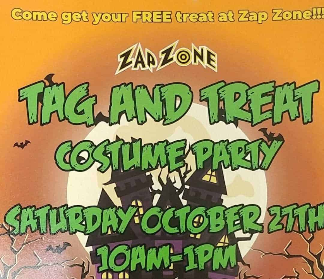 Zap Zone Tag & Treat