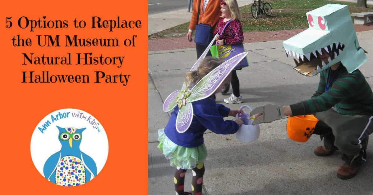 5 Options to Replace the UM Museum of Natural History Halloween Party