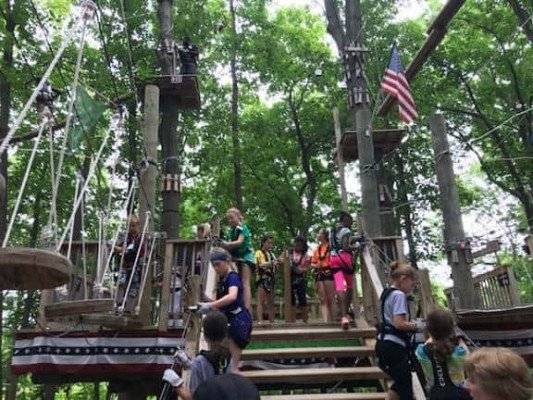 Girl Scouts Heart of Michigan - Adventure Park