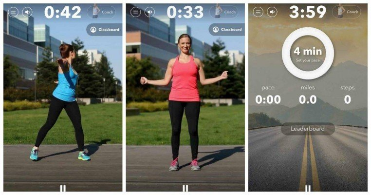 Gixo Walk & Stretch Class Screenshots