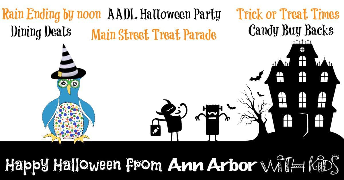Happy Halloween from Ann Arbor with Kids