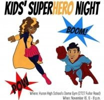 Kids Superhero Night