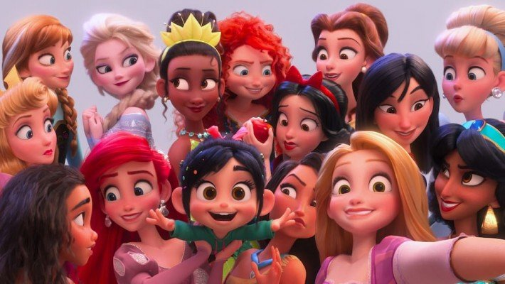 Ralph Breaks the Internet Review - Princess Selfie