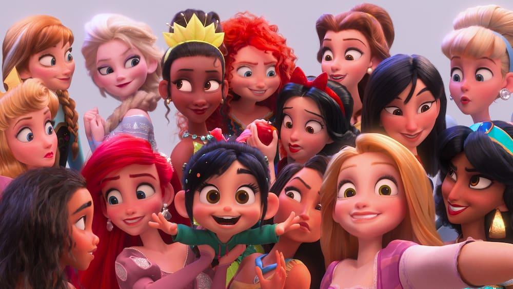 Ralph Breaks the Internet Review - Princess Selfie