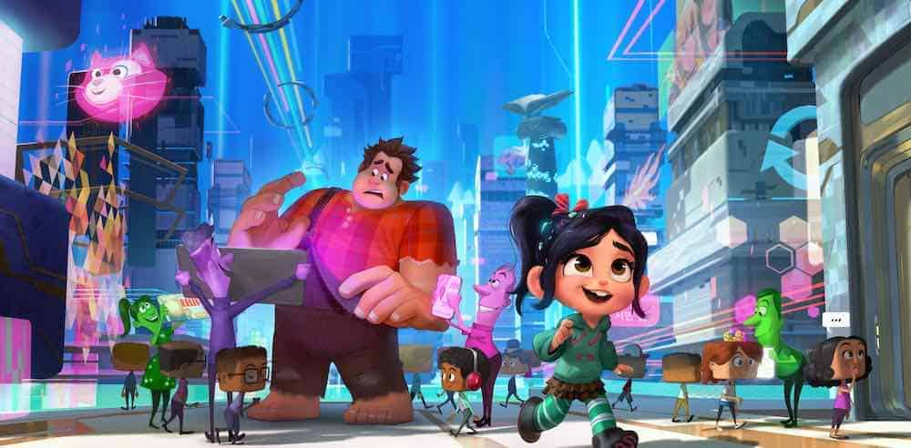 Ralph Breaks the Internet - Ralph & Vanellope get a taste of the internet