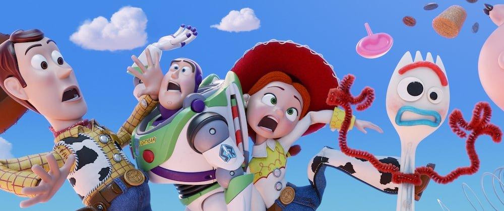 Toy Story 4 - Woody, Buzz, Jesse, & Forky
