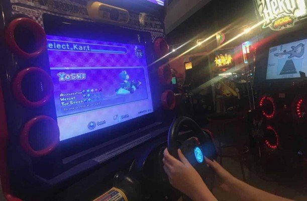 Ann Arbor Pinball Pete's - Mario Kart