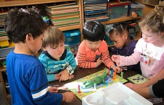 Ann Arbor Nursery Playing a Game