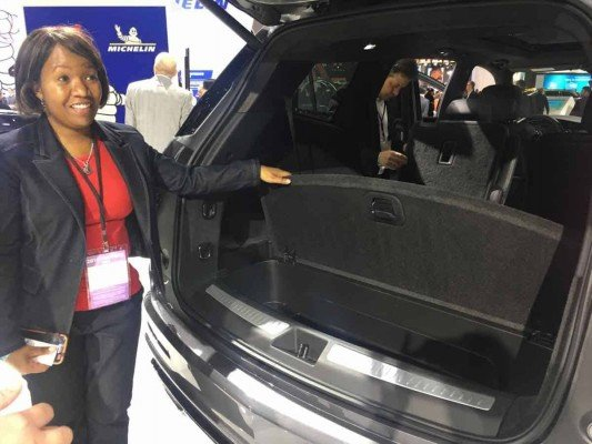 Kid-Friendly Auto Show - Cadillac XT6 Cargo