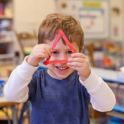 Triangle Cooperative Preschool - Triangle Craft