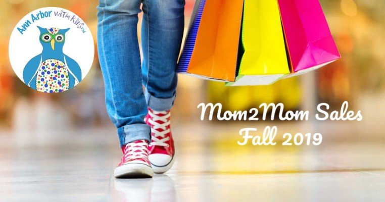 Ann Arbor Mom2Mom Sales - Fall 2019