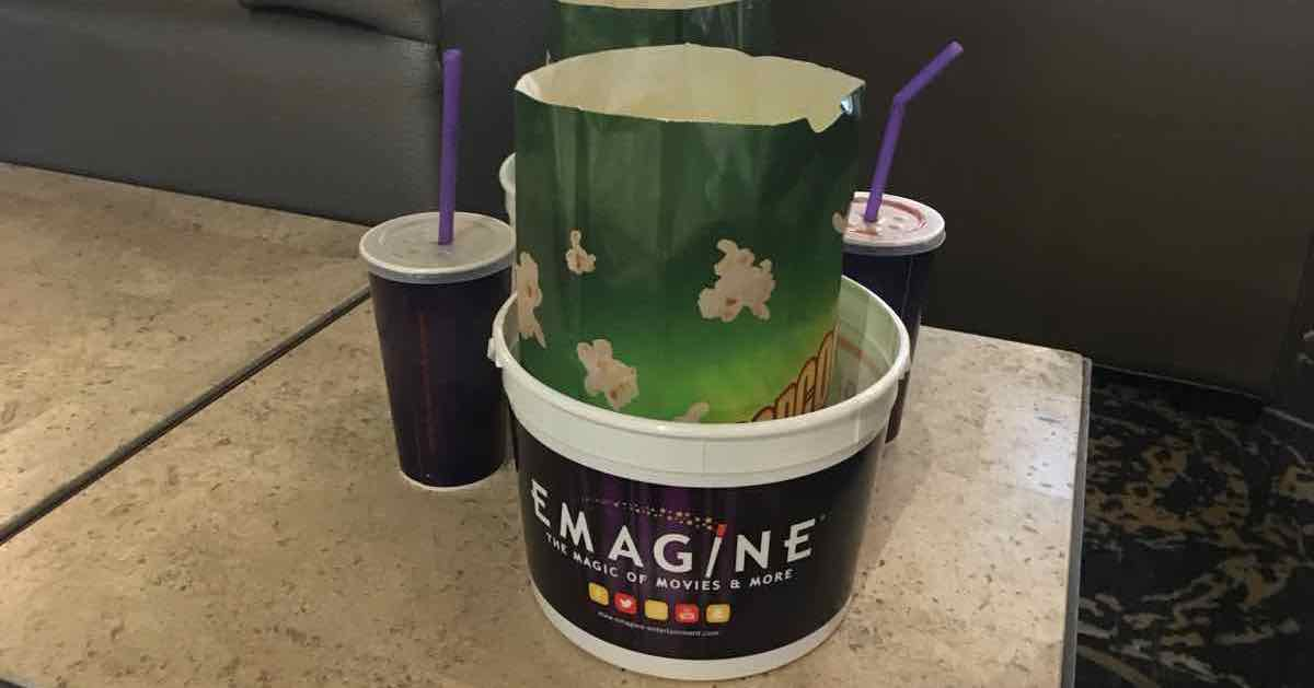 Emagine Popcorn buckets - LEGO Movie 2 review