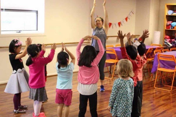 Peachy Fitness Birthday Parties - Yoga Party