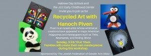 Recycled Art with Hanoch Piven - March 24