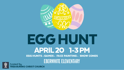 Ann Arbor Egg Hunt at Eberwhite