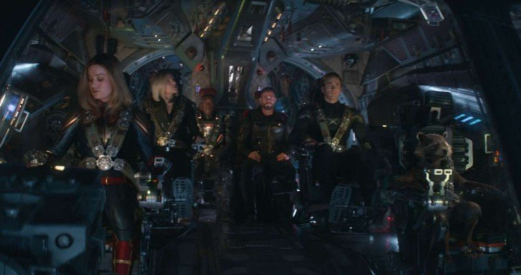 Avengers: Endgame - On the spaceship