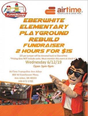 Eberwhite Airtime Fundraiser