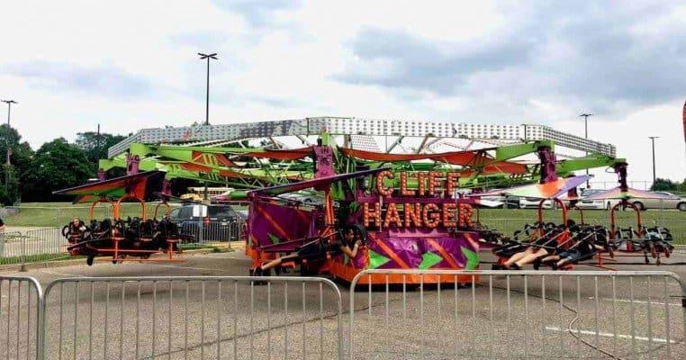 2019 Ann Arbor Jaycees Carnival - Cliff Hanger