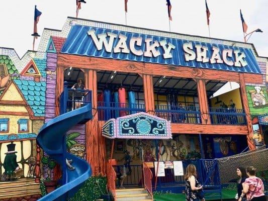 2019 Ann Arbor Jaycees Carnival - Wacky Shack
