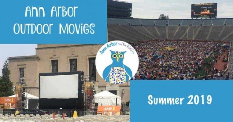 Ann Arbor Outdoor Movies - Summer 2019