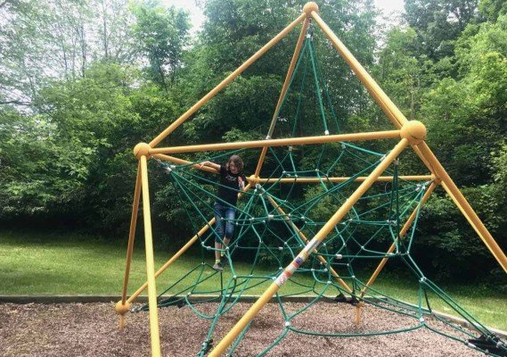 Ann Arbor's Placid Way Park - Climbing Star