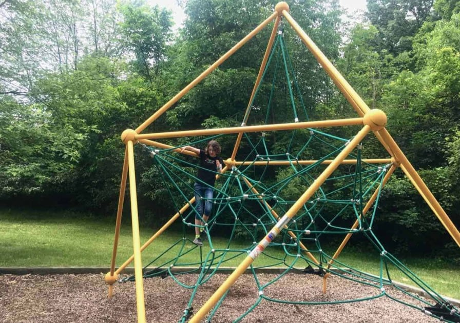 Ann Arbor's Placid Way Park - Climbing Star