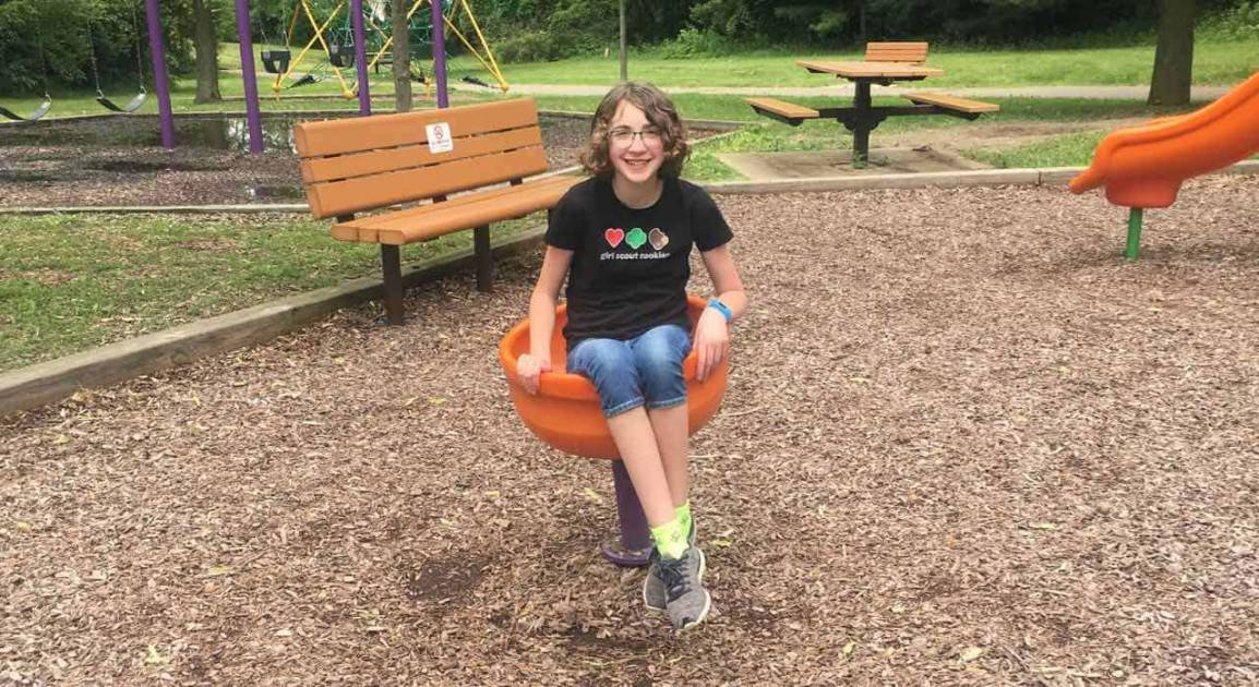 Ann Arbor's Placid Way Park - Spinning Cup