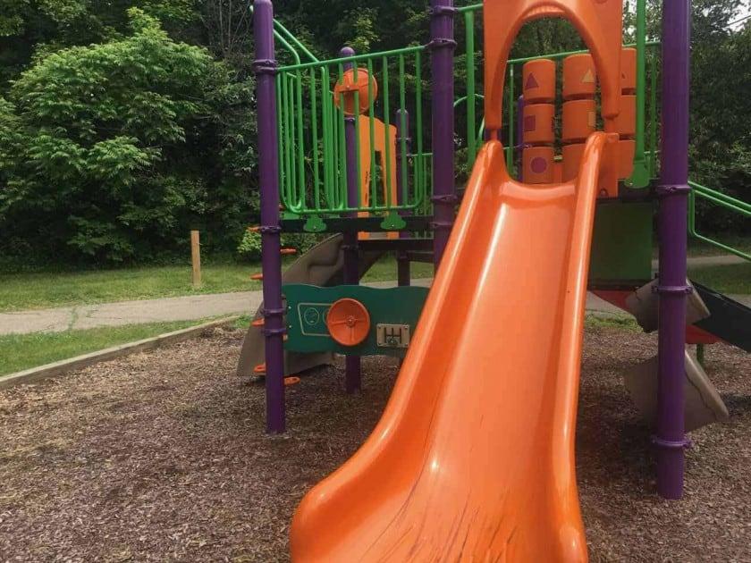 Ann Arbor's Placid Way Park - Structure