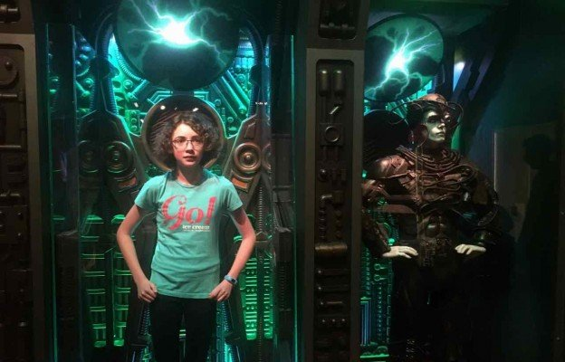 Star Trek Exploring New Worlds - Henry Ford Museum - Regenerating in Borg Alcove