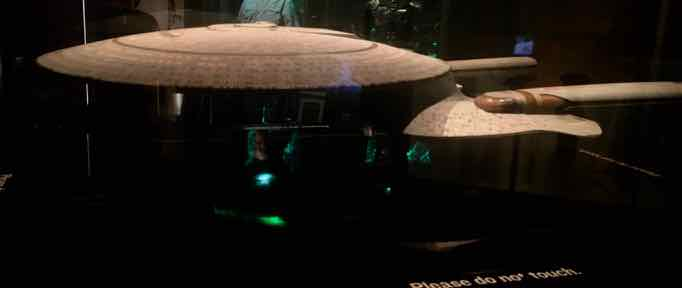 Star Trek Exploring New Worlds at Henry Ford Museum - Enterprise Model