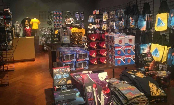 Star Trek Exploring New Worlds - Henry Ford Museum - Gift Shop