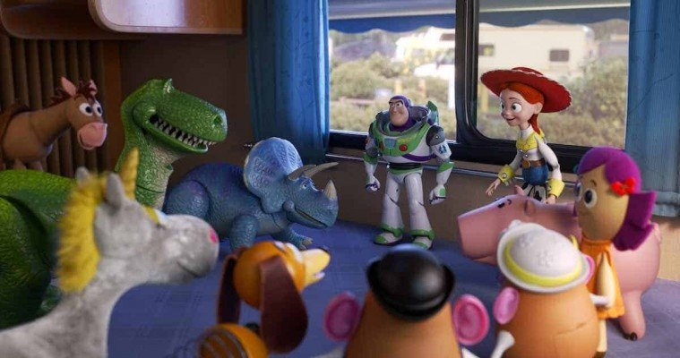 Toy Story 4 - Road Trip - Buzz and other Toys