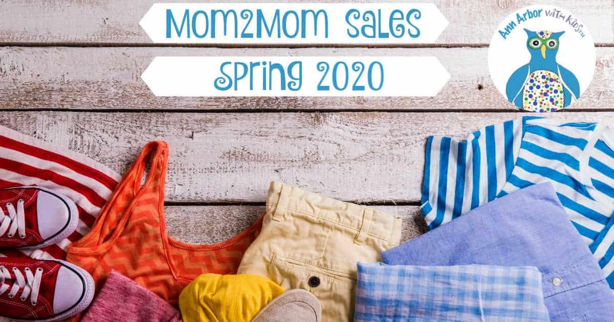 Ann Arbor Mom2Mom Sales - Spring 2020