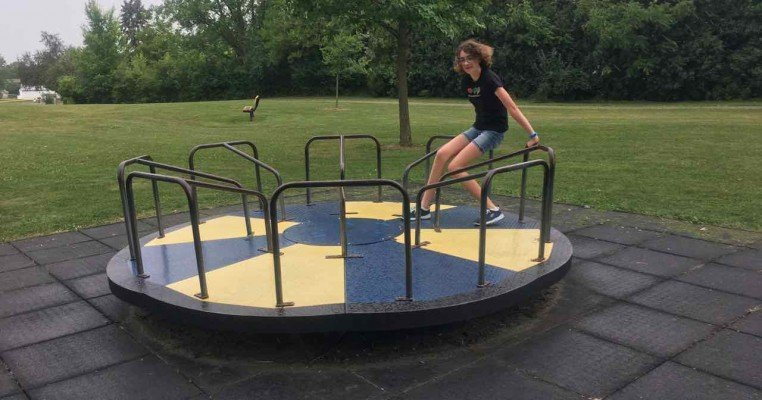 Saline's Brecon Park - Merry Go Round
