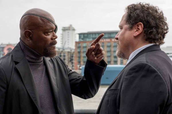 Spiderman - Nick Fury & Happy Hogan