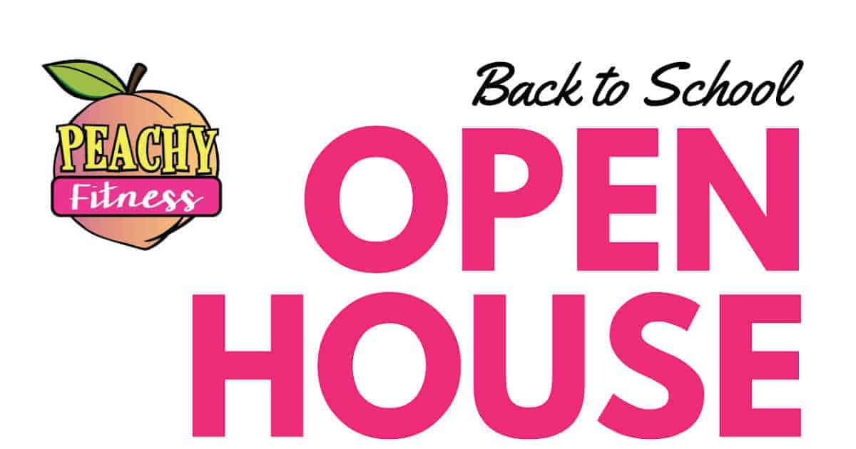 Peachy Fitness Back to School Open House