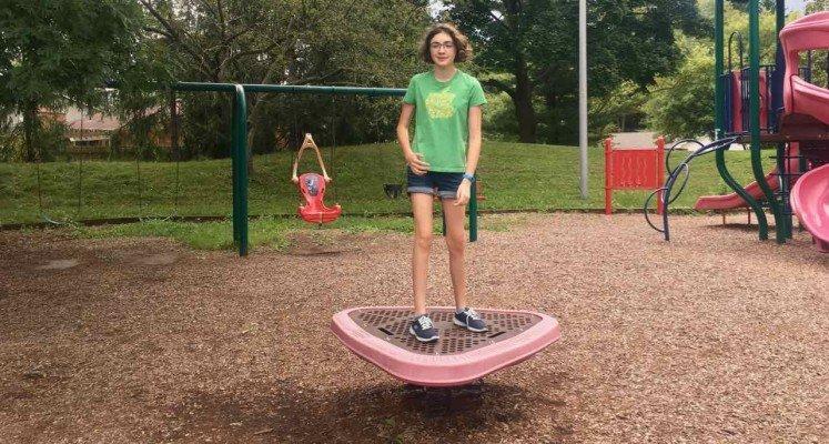 Ann Arbor's Mushroom Park - Bouncer
