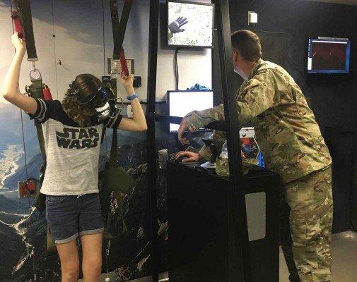 YpsiFest - US Army - Virtual Parachuting