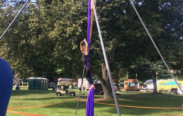YspiFest - Ring of Steel - Aerial Silks Show