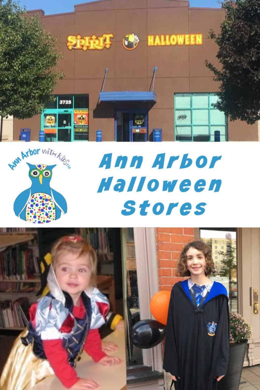 Ann Arbor Halloween Stores
