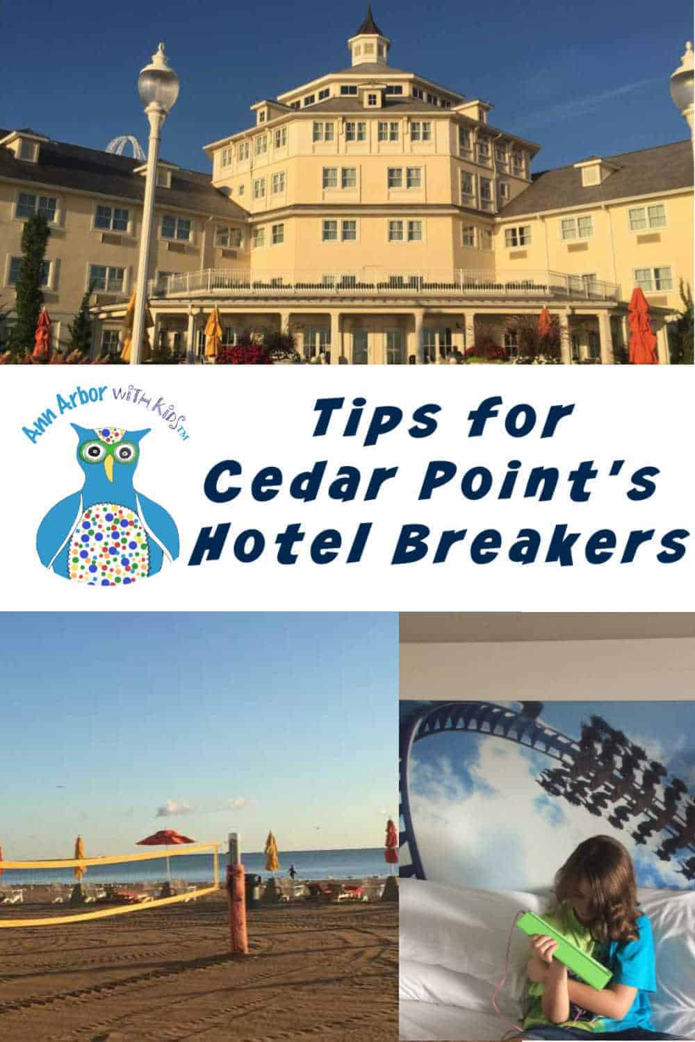 Cedar Point Hotel Breakers Tips - Pinterest Image