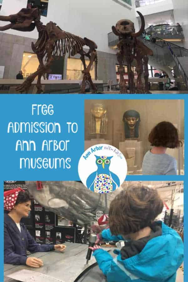 Free Ann Arbor Museums Pinterest